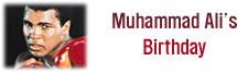 Muhammad Ali's Birthday
