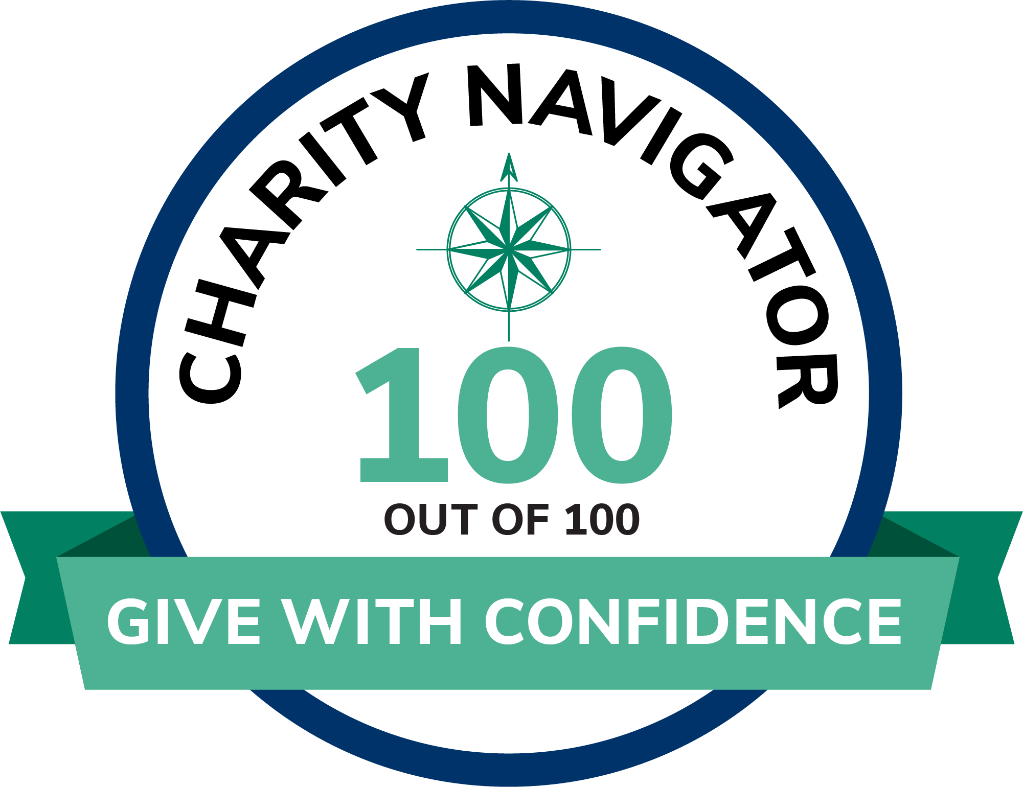 IILA is rated 100 out of 100 on Charity Navigator