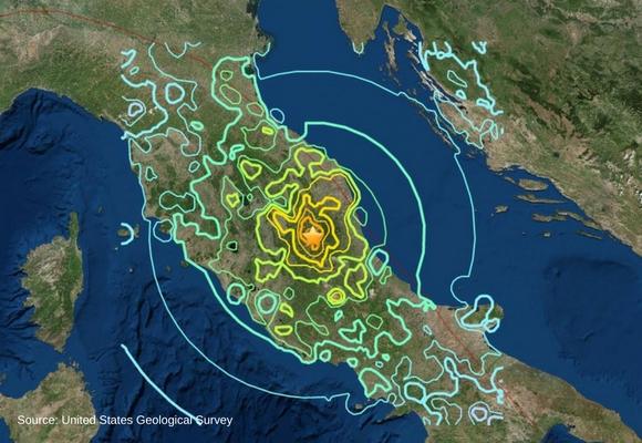 Italy Earthquake Header Image