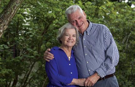 The Pat and Marion Dugan Legacy Society Header Image